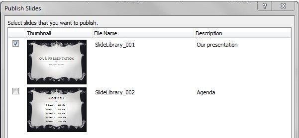 SharePoint 2013 Slide Library